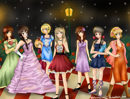 APH girls by watermelonxD