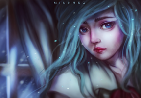 Frost 2 - Long hair ver by minnhsg
