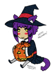Halloween Miho Witch 2014 by ThumbJr