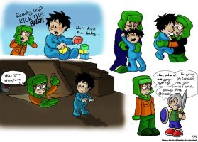 South Park Sketches - Kyle and Ike by Raax-theIceWarrior