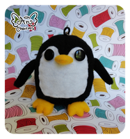 .: Little Penguin Keychain :. by Angeru-Charms
