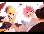 FT 478: Natsu and Lucy by AlexanJ
