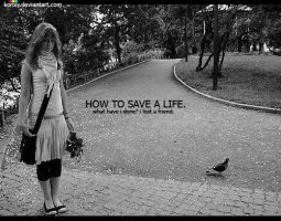 how to save a life by konxy