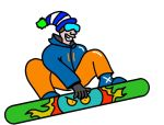 Snowboarder by Gingerbaron