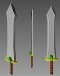 Model practice - Envious Sword by BlackMagicOverlord