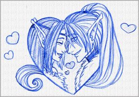 Elf Love by TouchedVenus