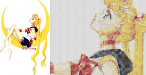 Sailor Moon - Cross Stitch Pattern by Kiara-Genesis