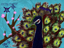 The Peacock by Musakcritiq