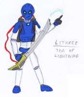 Lithree - Toa of Lightning by BlackMage1234