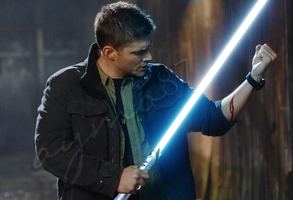 Dean, the Emo Jedi by aymo87