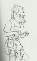 Mr. Tact-knife by Fox-Superior