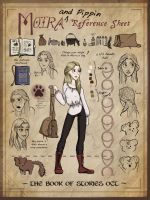 Moira+Pippin ref sheet by Bright-Smoke