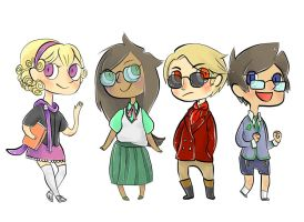 Narniastuck Beta Kids by toupele