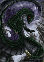 Gojira by JuneCat