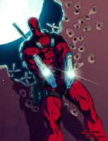 Deadpool by Eddie Nunez by Ross-A-Campbell