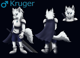 Kruger The White Wolf by PhoenixWulf