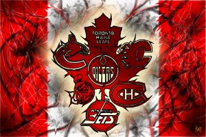 Canadian Hockey by Donjoo