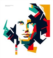 Jim Morisson in WPAP by EDHO by edhoartwork