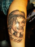 Michael Jackson Tattoo by LARvonCL