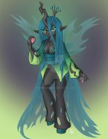 Queen Crysalis of the Changlings by Yunsildin