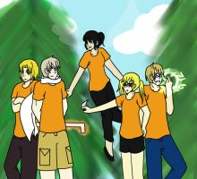 Hetalia-  Demigods of the World Fanfic (Cover) by JStarPye