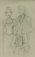 Malfoy family portrait by Hillary-CW