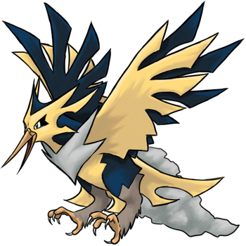Mega Zapdos by TheCompleteAnimorph