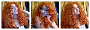 :Disney: Merida WIP!! by AlouetteCosplay