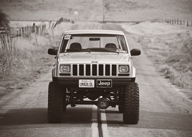 Jeep Comanche by KateIndeed