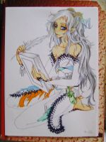 Book of the magical nature- coloring in progress by Papilio-Machaon