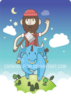 Story of Paul Bunyan by carnivalfish