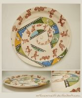 cycle animation on plate by ariencarnesir