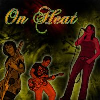 On Heat band cd front cover by RevaMissP1ss