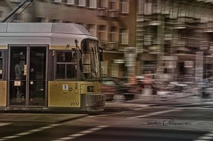 Tram by BiBiARTs