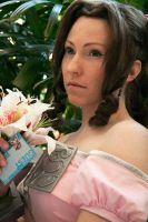 Aerith - flower girl by Anathiell