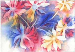 Independence Day Bouquet by eleyn-astariol