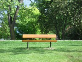 The Park Bench by midnightstouchSTOCK