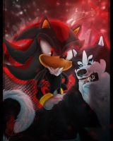 Two Shadows by wolfs-rain-amanda