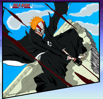 Bleach chapter 396 Ichigo by ikkaku4ever