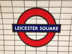 Leicester Square Station Sign by Uponia