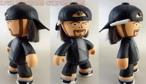 SDCC 09 Custom Silent Bob Mez by KyleRobinsonCustoms