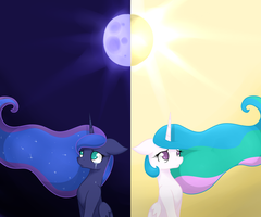 A Tale of Two Sisters by NovaBytes