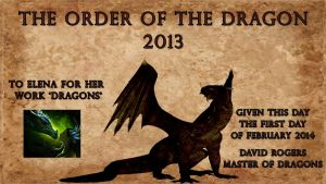 THE ORDER OF THE DRAGON 2013 by DragonsChest