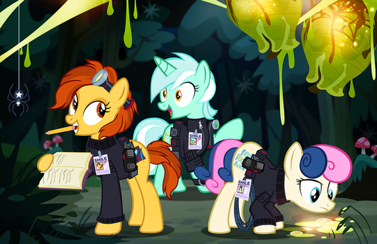GM Berrow and the Mares from SMILE by PixelKitties