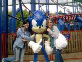 lizzy me and sonic by shadshad121