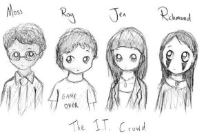 The IT Crowd by Dannichu