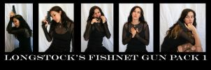 Fishnet Gun Pack 1 by LongStock