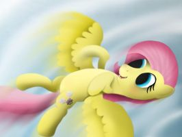 Fluttershy - The Joy of Flight by GromekTwist