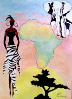 Africa by Inimputable