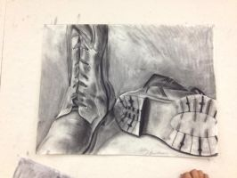Homework: Combat boots by OutOfTheAshes95
